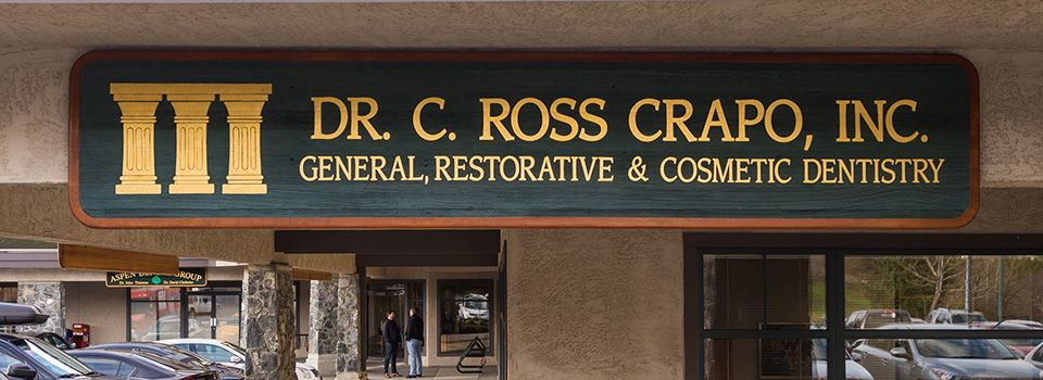 Dr. Crapo office signage