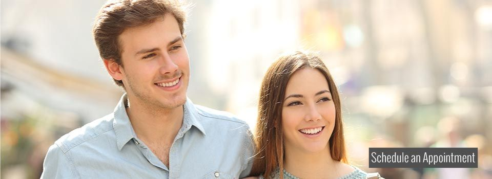 Smiling couple | Schedule an appointment